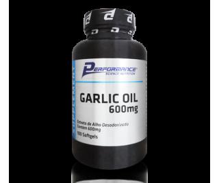Óleo de Alho (Garlic Oil) - Performance Nutrition 100 cápsulas