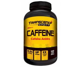 Cafeína - Transcend 120 cápsulas