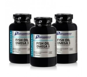Combo Ômega 3 (Fish Oil) - Performance Nutrition 300 cáps