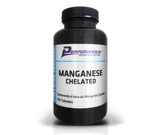 Manganese Chelated - Performance 100 tabletes