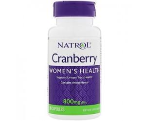 Cranberry 800 mg - Natrol 30 cápsulas