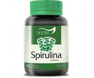 Spirulina - Duom 60 cápsulas