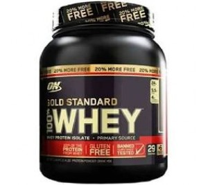 Whey Protein Gold Standard 100% - Optimum Nutrition 909g