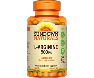 L-Arginina 500mg - Sundown 90 cápsulas