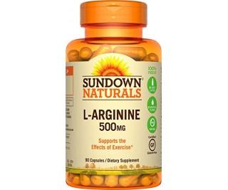 L-Arginina 500mg - Sundown 90 cápsulas