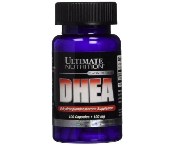 Dhea Ultimate Nutrition 100mg - 100 cápsulas