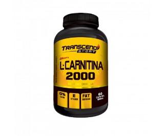 L-Carnitina 2000 -1000mg - Transcend Sport - 60 cápsulas