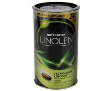 Linolen - Óleo de Cártamo - Nutrilatina 240 softgels