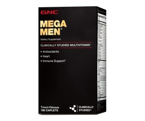 Multivitamínico Mega Men 180 tabletes - GNC