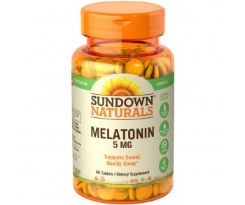 Melatonina 5mg - Sundown 90 tabletes