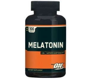 Melatonina 3mg - Optimun Nutrition 100 tabletes