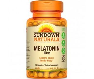Melatonina 10mg - Sundown 90 cápsulas