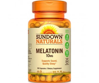 Melatonina 10mg - Sundown Naturals 90 cápsulas