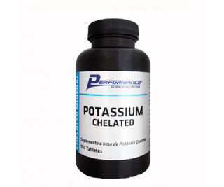Potassium Chelated - Performance 100 tabletes