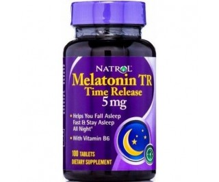 Melatonina Time Release 5mg - Natrol 100 tabletes